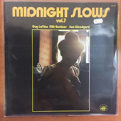 "Milt Buckner / Guy Lafitte / Sam Woodyard ‎– Midnight Slows Vol.7 12"" LP Vinile"