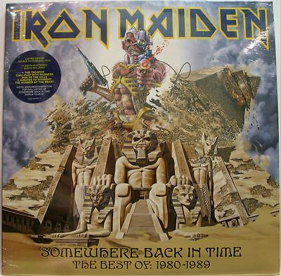 IRON MAIDEN - SOMEWHERE BACK IN TIME BEST OF 1980-1989 - 2 LP Picture  Sigillato
