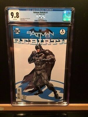 Dc Batman: Rebirth #1 Cgc 9.8!! Rare Porter Variant! Key First Issue New Case!