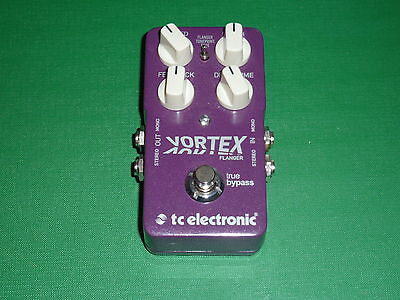 TC Electronic Vortex Flanger guitar effects pedal