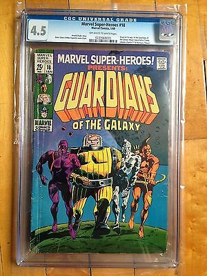 CGC 4.5 Marvel Super-Heroes #18 *Origin & 1st App Guardians of the Galaxy!*1969*