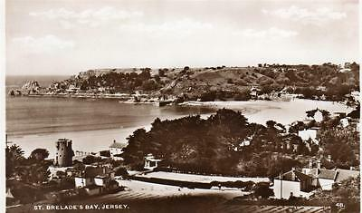 JERSEY St. Brelade's Bay Channel Islands old Postcard unused