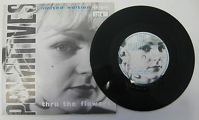 "The Primitives - Thru The Flowers 7"" Single Limited Edition No. 1018"