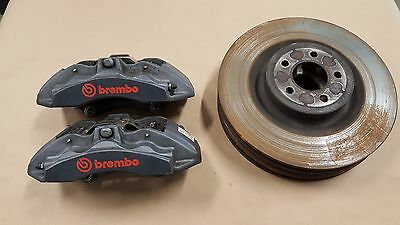 2015 2016 2017 Mustang GT Brembo Front brake calipers 6 piston 15 inch Rotors