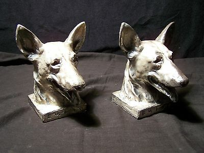 Buddy the original seeing eye dog for the blind bookends