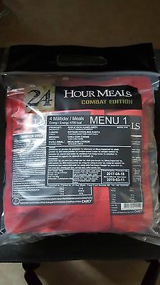 Swedish Army Menu #1 - 24hr 4 Course Combat Ration - Hard to get ration!