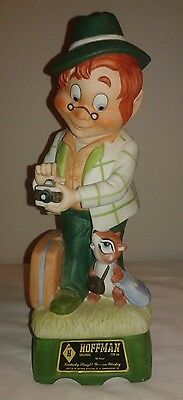 Hoffman Distilling Co Mr Lucky Series Tourist 1979 Whiskey Decanter Music Box