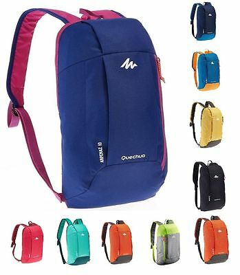 Quechua Small Lightweight Hiking Camping Outdoor Backpack Rucksack 10L School