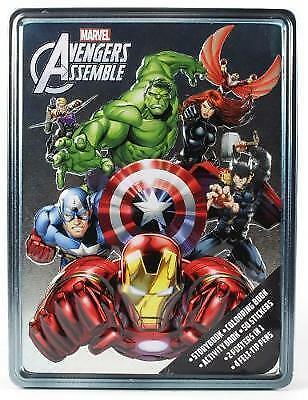 Marvel Avengers Assemble Happy Tin, , New Book