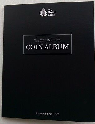Brand New 2015 The Great British Coin Hunt Definitive Album (Complete)