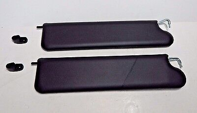 New Pair of Visors Sunvisors and Clips for MGB 1977-1980 Made in UK No Mirror