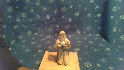 """All God's Children Figurine By Miss Martha Holcombe """"father Christmas"""" 2001"""