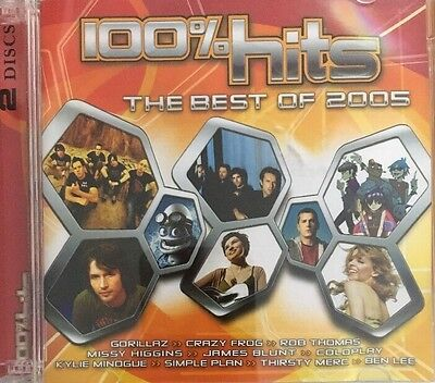 100 % Hits - The Best Of 2005 / Various Artists - 2 Cd Set