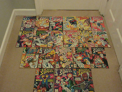 THE SILVER SURFER, Vol 3 X 20, Consecutive No's 61-80, Marvel Comics, Job Lot