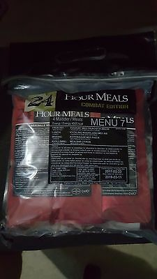 Swedish Army Menu #7 - 24hr 4 Course Combat Ration - Hard to get ration!