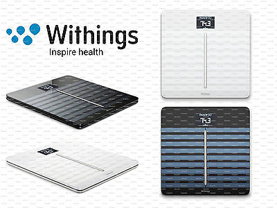 Withings Body Cardio Wifi Scales - Heart Rate + Body Composition - Blck Or White