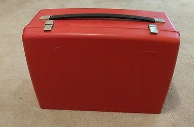 Vintage Bernina 830 Record Red Hard Case Sewing Machine Case Only