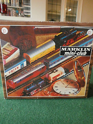 Rare Marklin Z Gauge Marklin Mini-Club Train Set