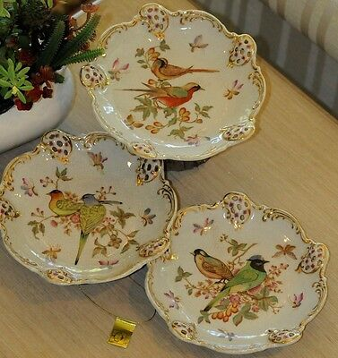 "Mark Roberts  English Bird Plate 8"" A/3 (Home Collection 2009)"