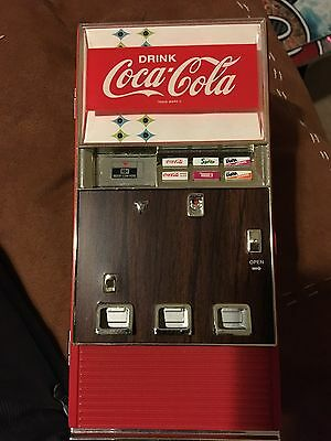 Collectible Coca Cola Music Box Vending Machine Coin Bank By ENESCO No Box