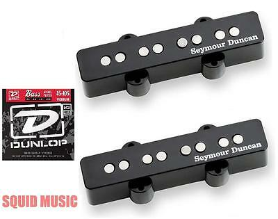 Seymour Duncan Apollo 4 String Jazz Bass Pickup J Pickup Set (FREE BASS STRINGS)