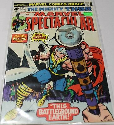 Marvel Spectacular #15 (Jun 1975) - Starring The Mighty Thor - Marvel Comics