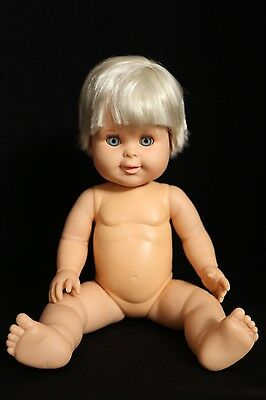 "Betsy Wetsy 15"" Vintage 1989 Ideal Baby Doll"