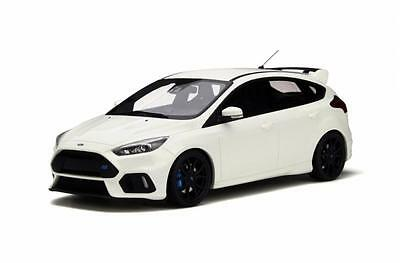 Otto Ford Focus RS Mk3 Resin Model in Frozen White 2016 1:18th