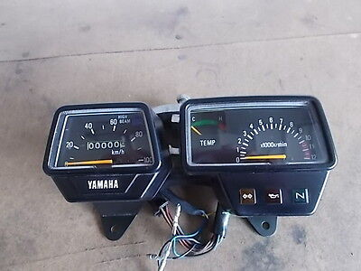 1988-1990 Yamaha Dt50 Speedometer / Tachometer Assembly Used