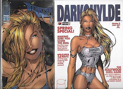 Darkchylde Lot Of 2 - #0 Regular & Another Universe Covers (Nm-)