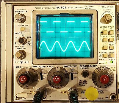 Tektronix SC502 Oscilloscope Plug In for TM500 Frames