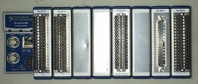 National Instruments NI CompactDAQ cDAQ-9188 with 2x 9213, 9375, 9207 and 9264