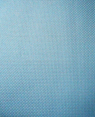 14 COUNT AIDA ~ MEDIUM BLUE - 50 x 54 cms (NEW from ZWEIGART)