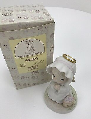 Precious Moments Figurine in Box - 163856 - Sowing Seeds Of Kindness - 1995