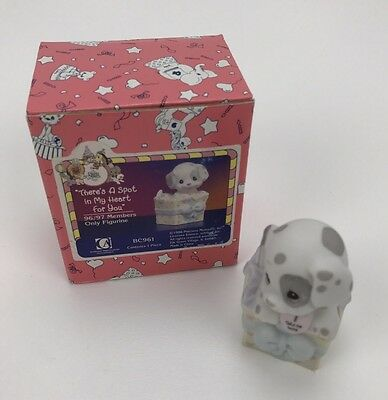 Precious Moments Figurine in Box - BC961 - There's a Spot in My Heart for You