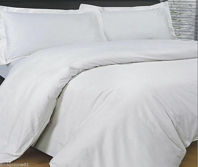 New Luxury Egyptian cotton TC 200 Quilt/Duvet Cover Set  All Sizes Best Quality