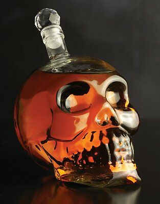 Brilliant - Facial Skeleton Bottle Skull Decanter