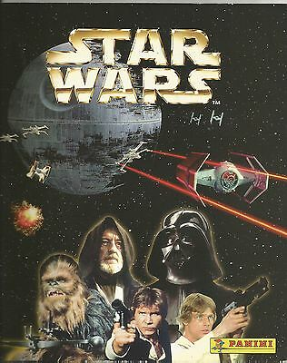 SOUTH AFRICA  Star Wars PANINI Special Edition Sticker album (1997) unused