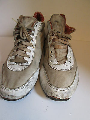 vintage Simpson fireproof nomex mens racing shoes circa 7os size 7.5M