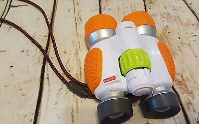 Fisher-Price Kid-Tough Binoculars toy orange t8