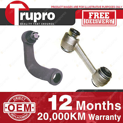 Trupro Pitman & Idler Arm For FORD FALCON XD XE XF POWER STEER 79-88