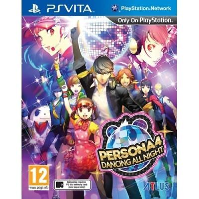 Persona 4 Dancing All Night PS Vita Game Brand New In Stock from Brisbane
