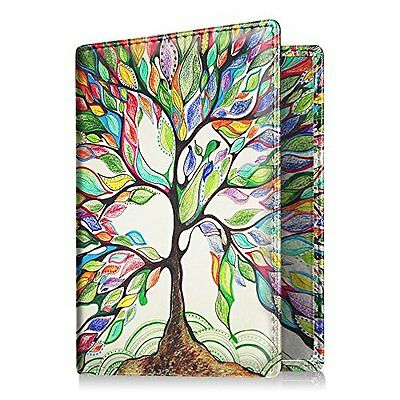 Passport Holder Travel Wallet Leather RFID Blocking Case Cover ID Credit Card