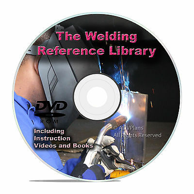 Learn How To Weld, Journeyman Welder Training Class Course Manuals PDF DVD V25