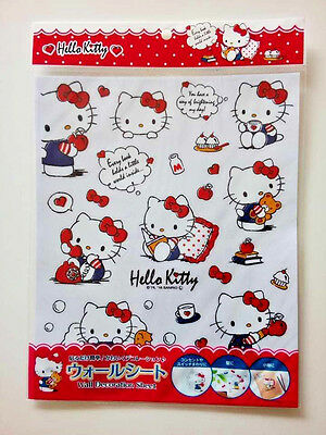 SANRIO JAPAN Licensed Hello Kitty Wall Stickers