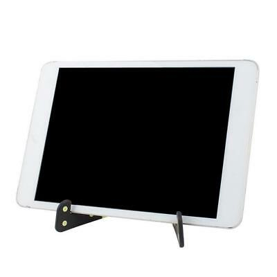 Hands-free Folding Tablet Phone Stand Bracket Holder For iPhone ipad Black