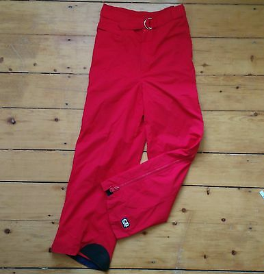 CB Sports Gore-Tex Mens Size 36 Red Snowboard Ski Pants Lined