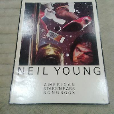 AMERICAN STARS'N BARS 1977 by Neil Young Songbook Sheet Music Song Book ALBUM LP