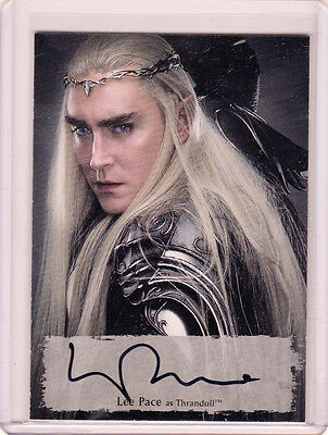 The Hobbit Battle of The Five Armies Lee Pace as Thandruil Poster Auto LP-P /75