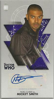 TOPPS DR. WHO THE TENTH DOCTOR ADVENTURES autograph card - NOEL CLARKE